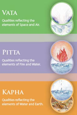 Are you Vata, Pitta or Kapha