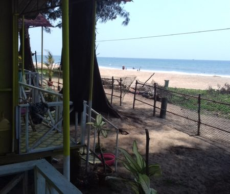 View from the Beach Huts